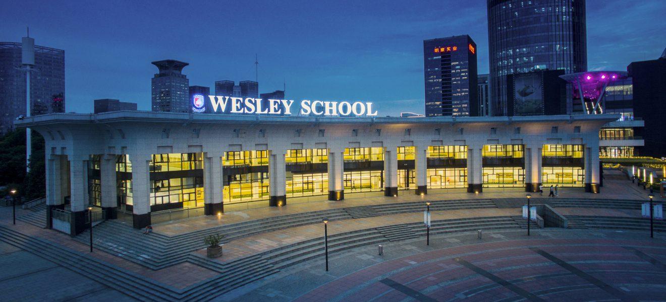 WELCOME TO WESLEY SCHOOL
